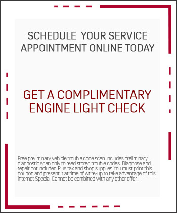Complimentary Engine Light Scan